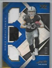 Hunter Renfrow2019 XR Football Rookie Triple Threats Jersey #RTM39 Ser#7/75
