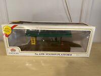 MODEL POWER #6358 Station Platform Train Accessory Toy In Original Box