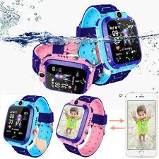 Reloj Inteligente Anti-perdido GPS Rastreador Sos llamada GSM SIM Pantalla Táctil Para Niños Niño