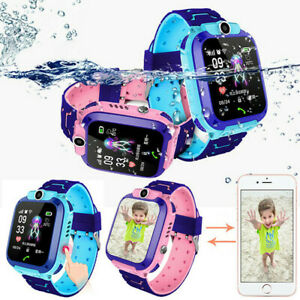 Anti-lost Smart Watch GPS Tracker SOS Call GSM SIM Touch Screen For Children Kid