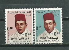 MOROCCO Marcoc Scott# B17/18 ** MNH Set Flood Victims