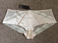 M&S Rosie AUTOGRAPH Luxury SILK LOW RISE SHORTS Knickers UK16 EU44 BNWT Alabaste