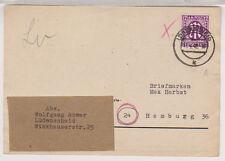 Bizone/AM-Post, 15a EF, Lüdenscheid, 11.4.46