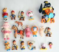 Lot of 18 PBS Kids Action Figures Arthur Callie Jake GabbaCaDabra Octonauts Dora