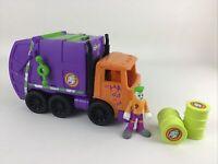 Imaginext The Joker Garbage Truck Gotham City DC Super Friends Comics Toy Mattel