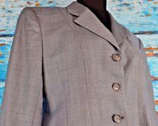 Marigold Riding Apparel Women's Show Jacket Sz 14 Blazer Gray Wool Equestrian