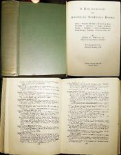 1930 PHILLIPS AMERICAN SPORTING BOOKS BIBLIOGRAPHY REFERENCE TRAVEL FISHING HUNT