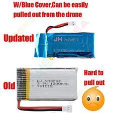 2X 3.7V 1200mAh Lipo Battery for Syma X5SW X5SC X5SC-1 RTF Drone H2 Parts New AU