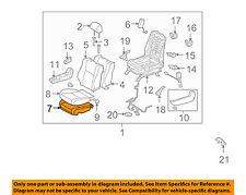 TOYOTA OEM 07-11 Tundra Passenger Seat-Foam Cushion Pad Right 715110C280