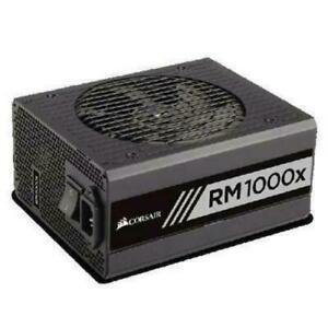 Corsair Rmx Rm1000x 1000 Watt 80 Plus Gold Certified Power Supply - Brand New!