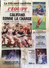 L'Equipe Journal 5/2/1999; CIO/ Califano/ Masnada/ Pau-Orthez/ Monaco/ Coupe Lig