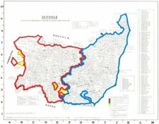 SUFFOLK. Parishes.Register start date. Ecclesiastical jurisdictions 1984 map