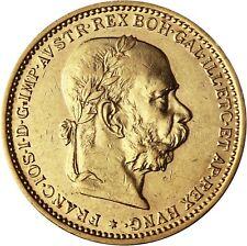 Österreich Ungarn 20 Kronen Gold 1892 bis 1905 Kaiser Franz Joseph in Kapsel