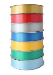 Nastro Confezione da Regalo Assortimento 7 Colori x 100 m 31 mm Made in Italy