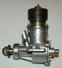 1940 Vintage OK SUPER 60 TETHER RACE CAR or AIRPLANE GAS ENGINE~Dooling Size