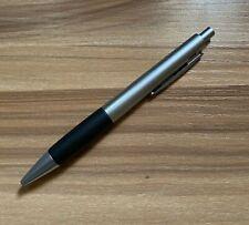 Lamy 296 Accent AL KK Aluminium Black Rubber Ballpoint Pen 4026680