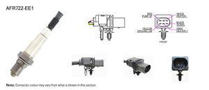 NGK NTK Oxygen Lambda Sensor AFR722-EE1 fits Audi A3 3.2 V6 Quattro (8P1) 184...