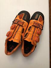Custom Orange Bontrager XXX Mountain Bike shoes Sz 39 EU