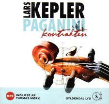 MP3 CD HÖRBUCH DÄNISCH Lars Kepler Paganinikontrakten, Dansk