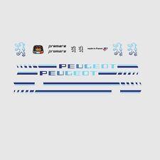 PEUGEOT Premiere BICICLETTA TELAIO ADESIVI - Decalcomanie - Trasferibili - N.20