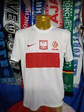 Maglia Calcio Polonia Home Euro 2012 Nike Size L Poland Jersey