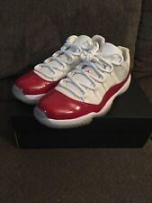 Nike Air Jordan Low Cherry 11 Size 10 W/Receipt