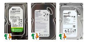 500GB 1TB 2TB SATA 3.5 Desktop CCTV PC DVR Hard Drive WD / SEAGATE / HITACHI HDD