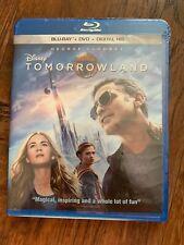 Disney - Tomorrowland - includes Blu-Ray + Dvd + Digital Hd - New & Sealed!