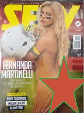 SEXY MAGAZINE BRAZIL # 451 - FERNANDA MARTINELLI - JUL 2017  SEALED  playboy hot