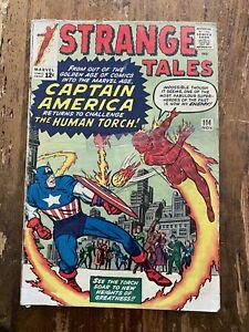 Strange Tales #114 MARVEL 1963 3rd Doctor Strange and 2nd Baron Mordo 6