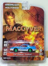 Greenlight Green Machine Hollywood Macgyver 1987 Pontiac Firebird 1/64 Series 17