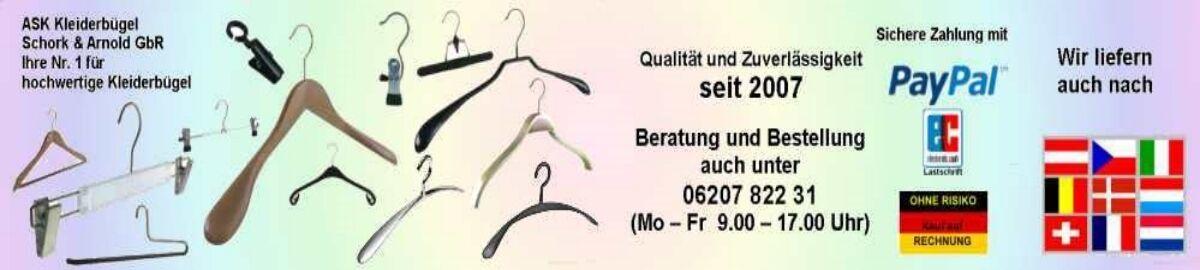 Kleiderbügel vom Fachhändler - ASK