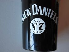 20 - Vintage Jack Daniel's Old No. 7 Blk Plastic Drink Mixed Whiskey Recipe Cups