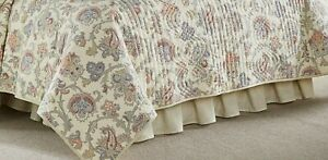 """Waverly Arezzo Bed Skirt Full/Queen 60""""x80"""" New"""