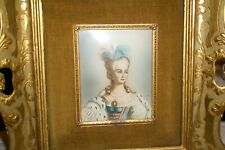 Antique 1800's Portrait Victorian Painting Wood Frame