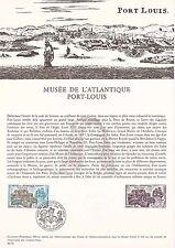 Document Philatélique Timbre 1er Jour : 04/12/ 1976 - Musée Port Louis