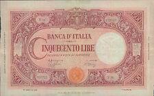 """500 lire 17/08/1944 """" Barbetti """" Rep. Sociale italiana"""