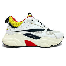 Christian Dior B22 Sneaker Size 36 EUR / Women US Sz 5.5 White Black Red Yellow