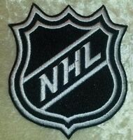 """Hockey 3.5"""" Iron On Embroidered Patch ~USA Seller~"""