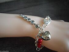 Acrylic Silver Plated Unbranded No Stone Costume Bracelets