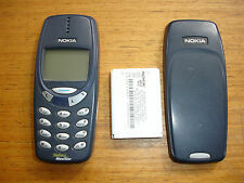 Nokia 3330 Mobile Phone Desbloqueado encantadora Retro teléfono Raro WAP versión