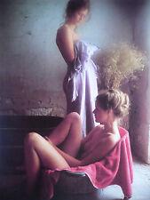 Grande Photo Cartonnée   DAVID  HAMILTON   Format 24x32cm  Femme  Woman