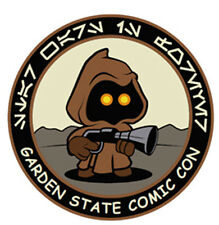 Garden State Comic Con Official Jawa Patch Kevin Liell MINT Zoloworld Star Wars