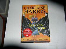 Dead and Gone: A Sookie Stackhouse Novel by Charlaine Harris (2009) SIGNED