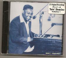 """FATS DOMINO, CD """"25 ORIGINAL RECORDINGS VOL.1"""" NEW"""