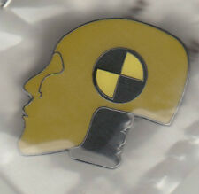 CRASH TEST DUMMY Lapel Pin