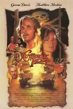Cutthroat Island movie poster - Matthew Modine, Geena Davis, Drew Struzan