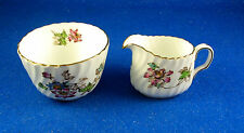 "Minton: ""Vermont"" Creamer and Open Sugar Bowl Set  Made in England (Estate)"