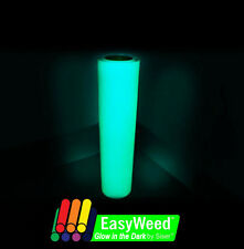 "Siser Easyweed Glow in the Dark HEAT TRANSFER VINYL (HTV) 15"" x 12"" Roll"