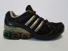 Adidas Megabounce TruVersa Shoes Black Silver Blue Women's Size 7.5 used